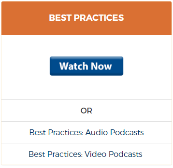 Tools of the Trade category view - Best Practices